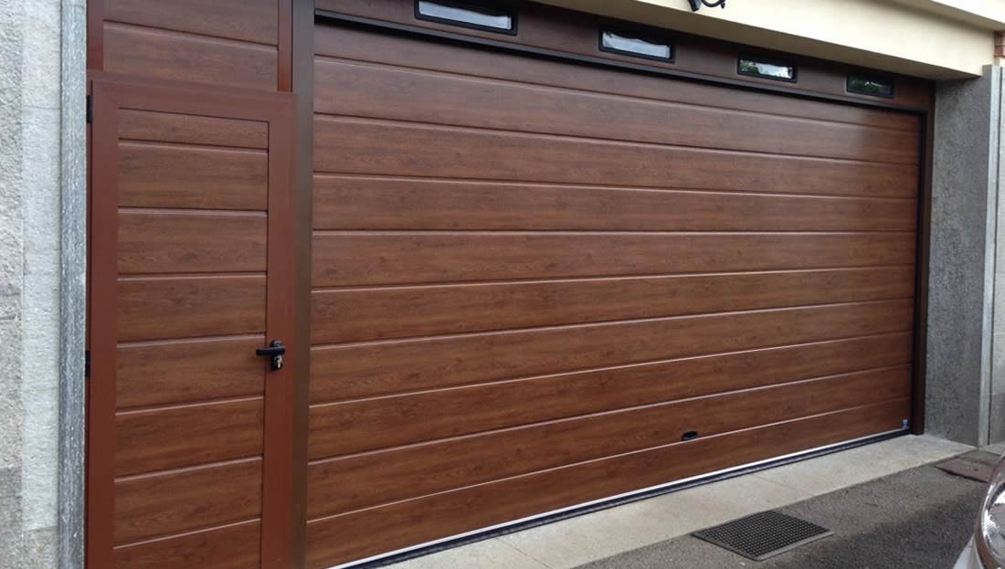 Bien-aimé Porte garage effetto legno Armo - Caratteristiche e brochure MN33