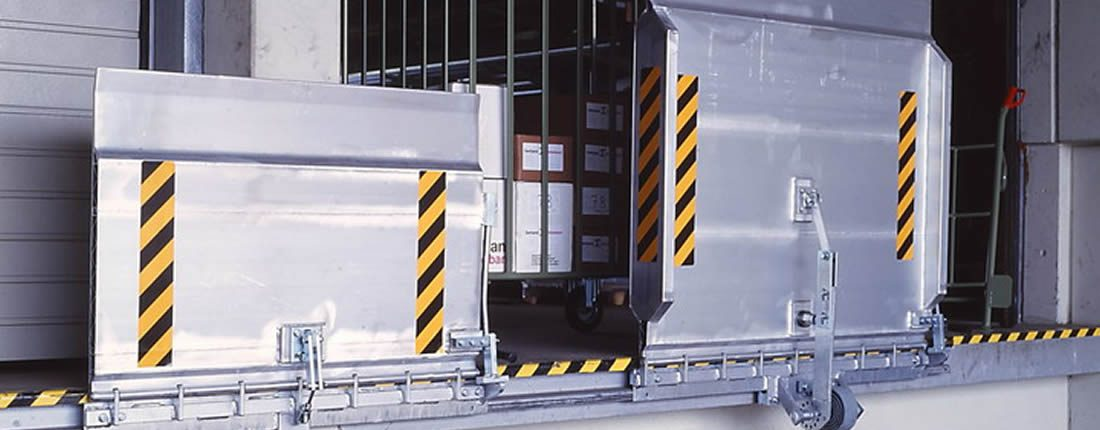 Pedane e rampe carico scarico camion merci armo tutti i for Rampe di carico in alluminio prezzi