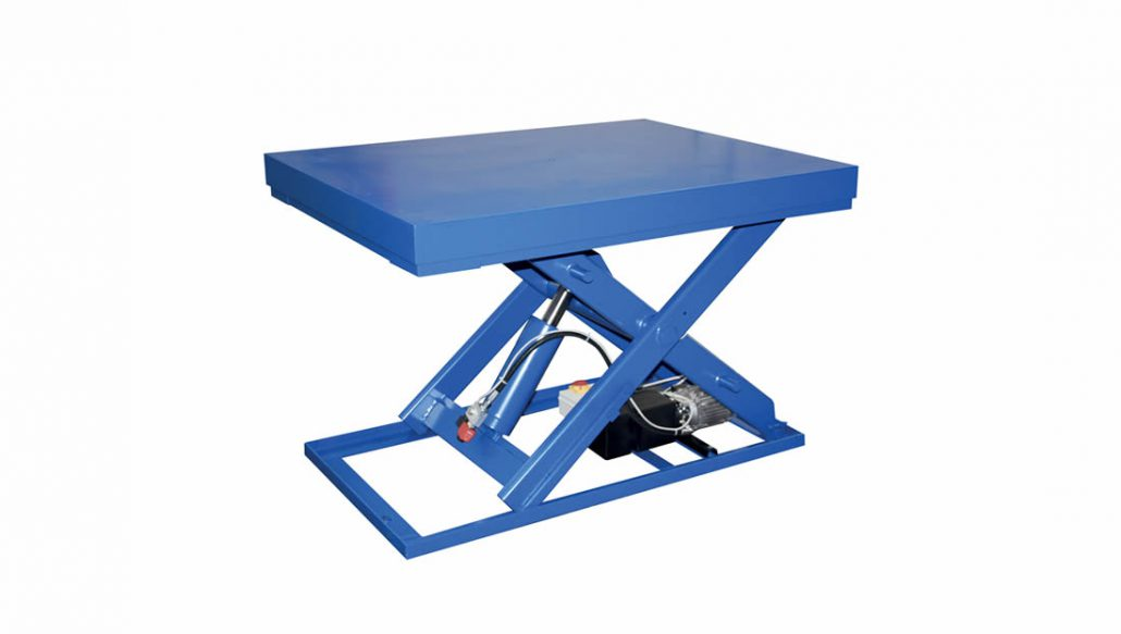 Scissor lift tables - Standard models - Tech details and brochures