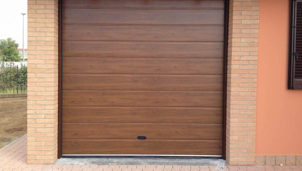 Ben noto Porte garage effetto legno Armo - Caratteristiche e brochure RW88