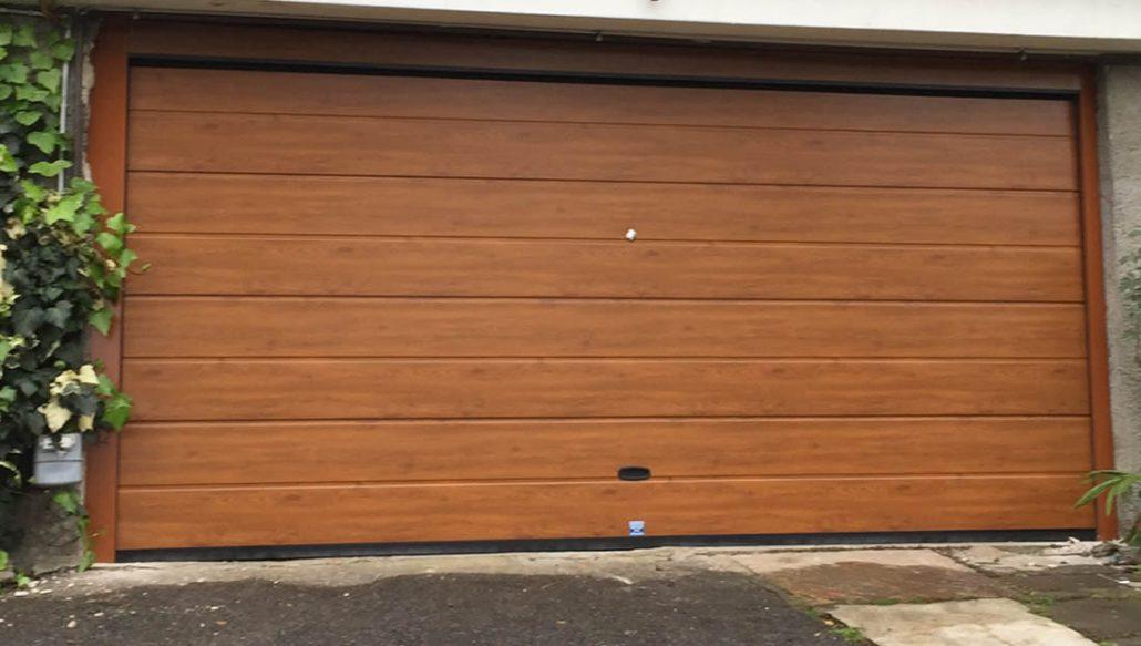 Eccezionale Porte garage effetto legno Armo - Caratteristiche e brochure NP57