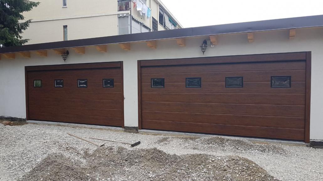 Porte Garage Effetto Legno Armo Caratteristiche E Brochure